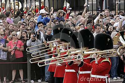 Guard Changing, London Editorial Stock Photo