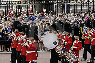 Guard Changing, London Editorial Stock Image