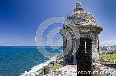Guard Tower Fort San Cristobal