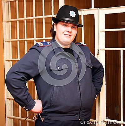 Guarda de la prisión