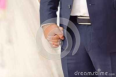 Guardando as mãos