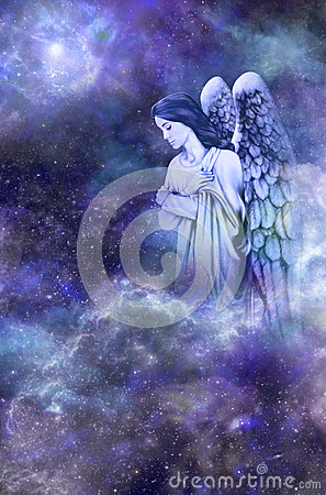 Free Guardian Angel Stock Image - 42250561