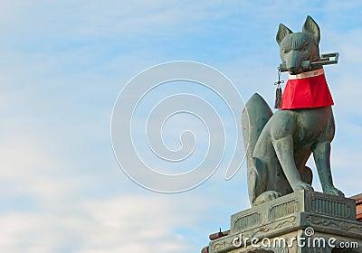 Guardian of Fushimi Inari Taisha Shrine