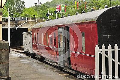Guards van, Llangollen Heritage Rail line
