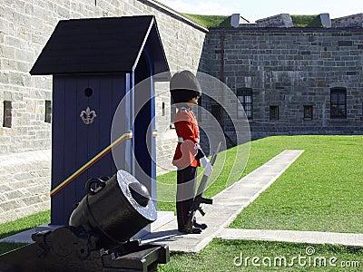 Guardsman and Sentry Box