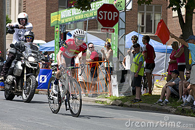 Guarnier Secures Win at Stillwater Criterium Editorial Stock Photo