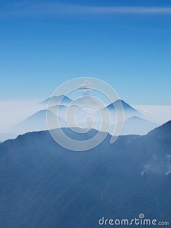 Guatemalan Volcanic Chain