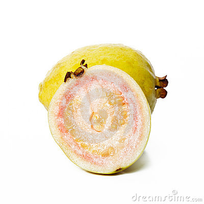 Guava fruit and a half