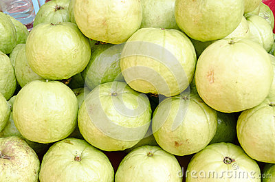 Guava fruit in market