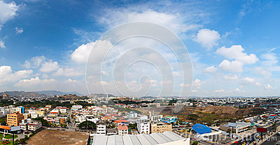 Guayaquil city panorama
