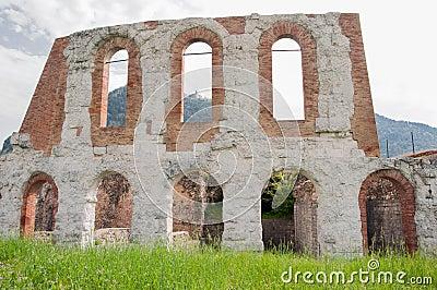 Gubbio, roman amphiteatre