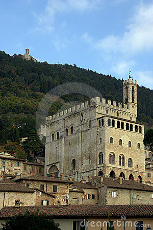 Gubbio town, Italy