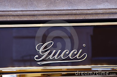 Gucci luxury shop Editorial Stock Photo