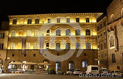 Gucci Museum in Florence (Italy) Editorial Stock Photo