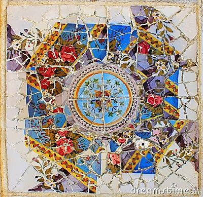 Guel park mosaic