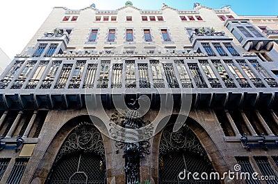 巴塞罗那guell宫殿西班牙