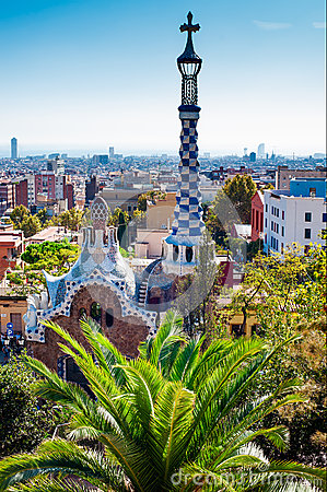 Free Guell Park, Barcelona Stock Photography - 31280852