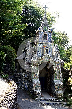 Free Guernsey -Close-up View Of The Little Chapel Royalty Free Stock Photography - 44702087