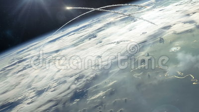 Guerra nuclear da órbita