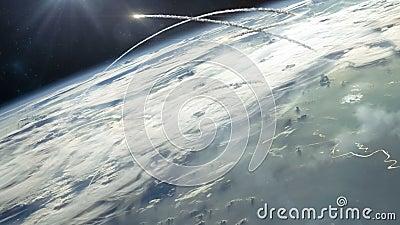 Guerra nucleare dall'orbita