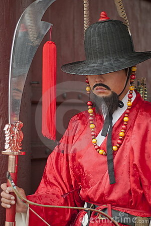 Guerrero antiguo coreano