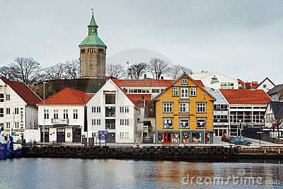 Guest harbour of Stavanger, Norway Editorial Photo