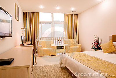 Guest room Editorial Stock Image