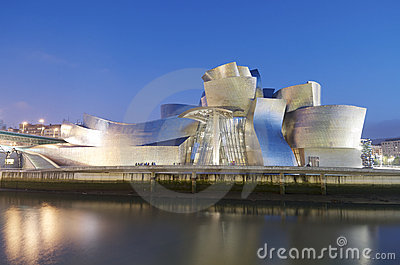Guggenheim Editorial Stock Photo