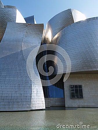 Guggenheim Bilbao Editorial Image