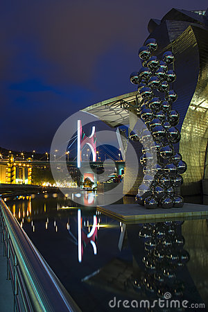 Guggenheim - Bilbao - Spain Editorial Photography