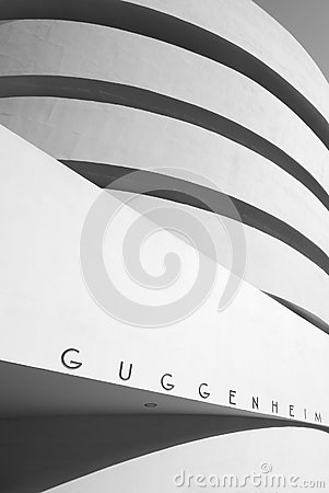 Guggenheim facade Editorial Photo