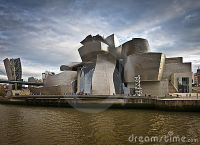 Guggenheim landscape Editorial Stock Photo