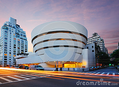 Guggenheim Musem Editorial Photo
