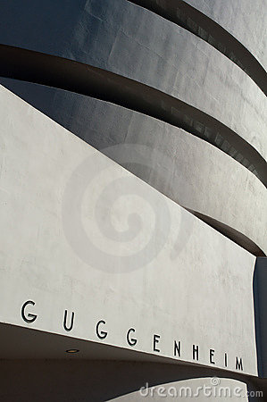 Guggenheim museum Editorial Photo