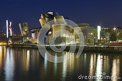 Guggenheim museum Editorial Photo