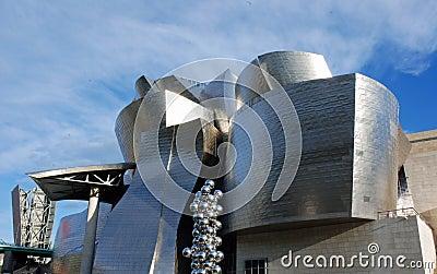 Guggenheim Museum in Bilbao Editorial Photography