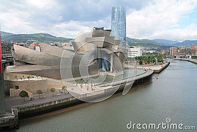 Guggenheim Museum Bilbao Editorial Stock Photo