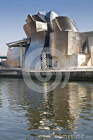 Guggenheim Museum Bilbao Editorial Stock Photo
