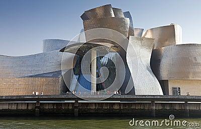 Guggenheim Museum Bilbao Editorial Image