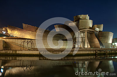 Guggenheim Museum at Bilbao Editorial Image