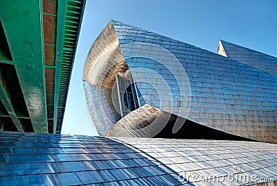 Guggenheim Museum Bilbao, Spain Editorial Image