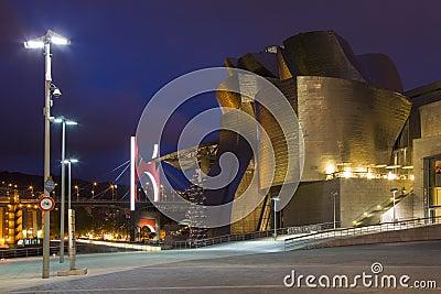 Guggenheim Museum - Bilbao - Spain Editorial Photo