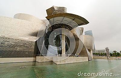 Guggenheim Museum. Bilbao Editorial Stock Image