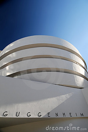 Guggenheim museum, New York Editorial Photography