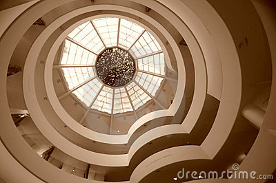 Guggenheim museum, New York Editorial Stock Photo