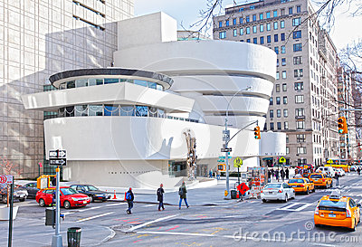 Guggenheim museum, New York City Editorial Stock Image