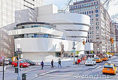 Guggenheim museum, New York City Editorial Stock Image