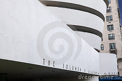Guggenheim Museum, NY Editorial Photography