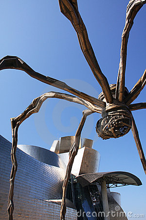 Guggenheim and spider Editorial Image