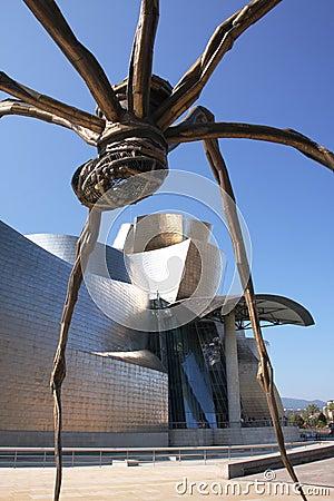 Guggenheim spider Editorial Photo
